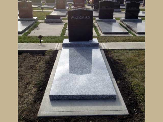 Legacy Monuments Grave Cover Gallery Made From Granite